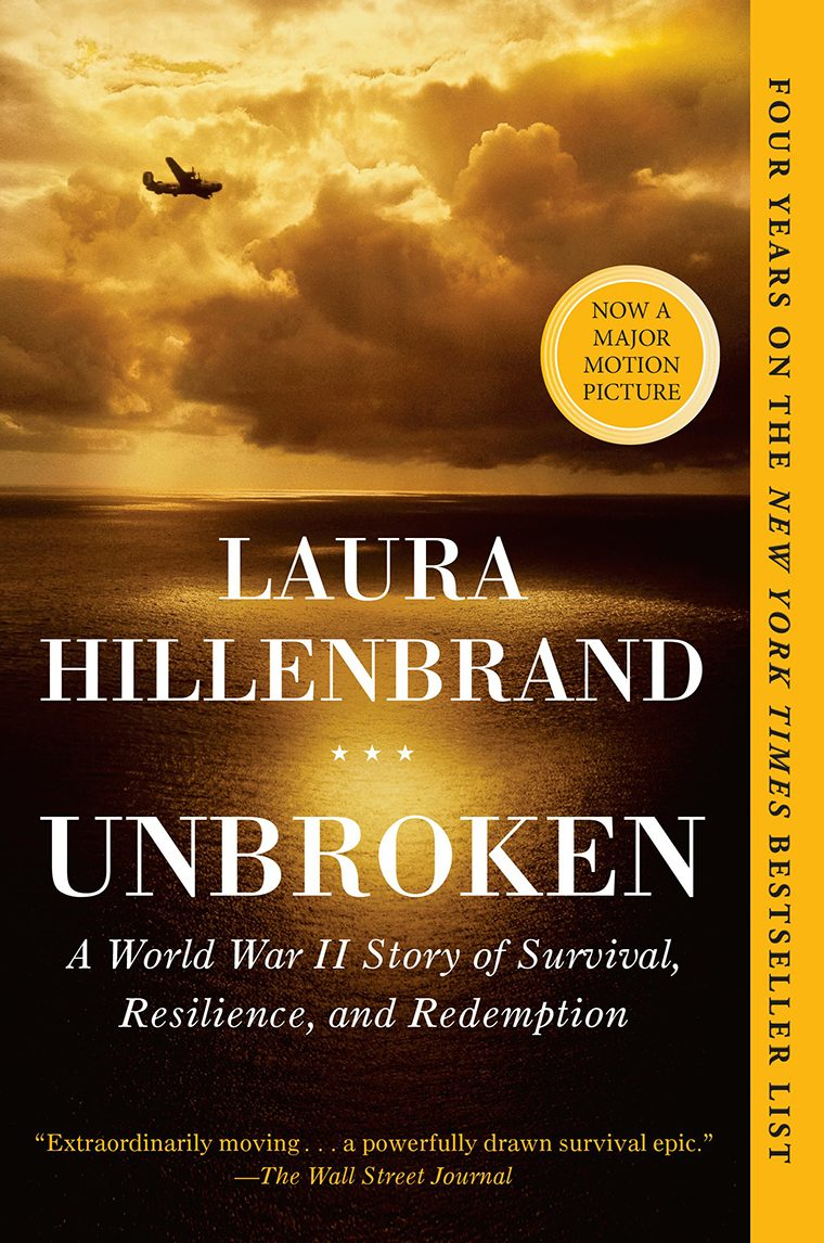 97- Unbroken- A World War II Story of Survival, Resilience, and Redemption by Laura Hillenbrand