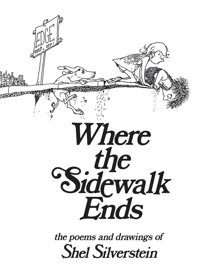 99- Where the Sidewalk Ends by Shel Silverstein
