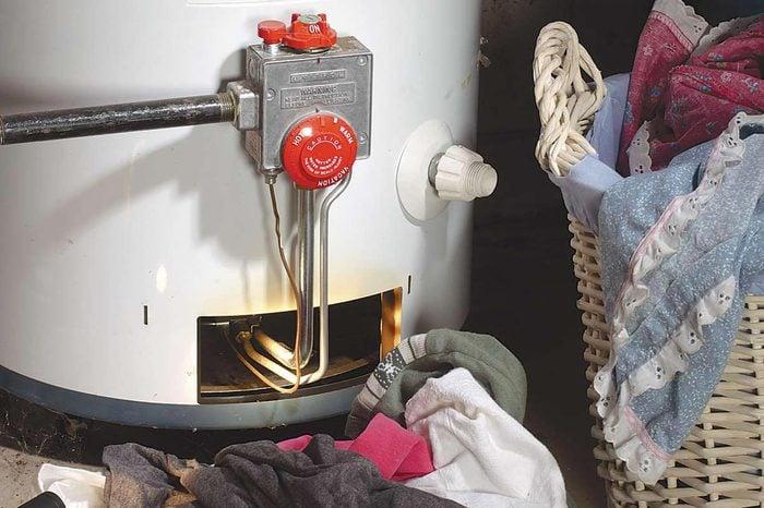 Gas Water Heater Fire