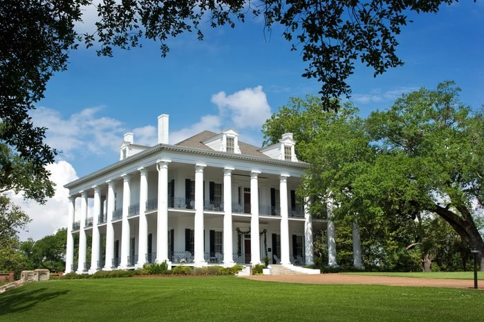 Southern Mansion - Greek revival style antebellum home