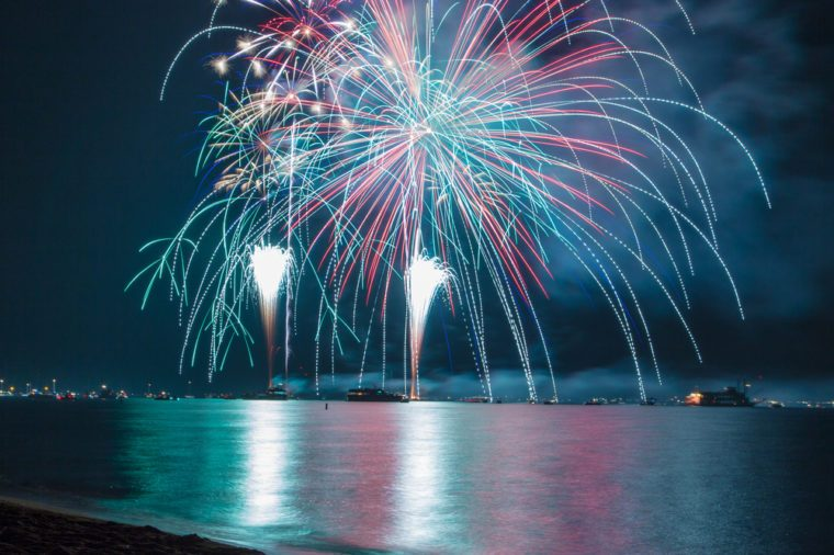 FireworksLake Tahoe fireworks