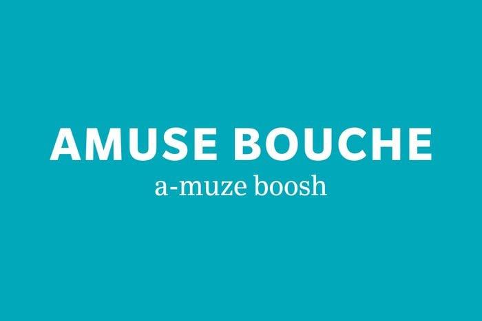 amuse bouche pronunciation