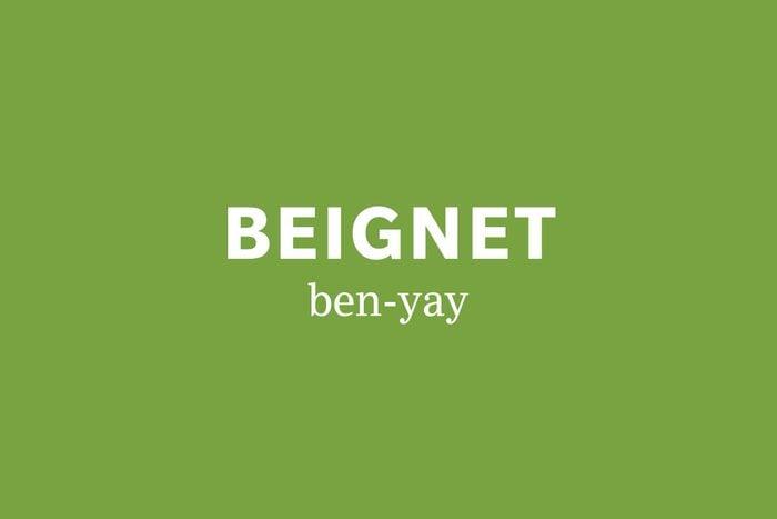 beignet pronunciation
