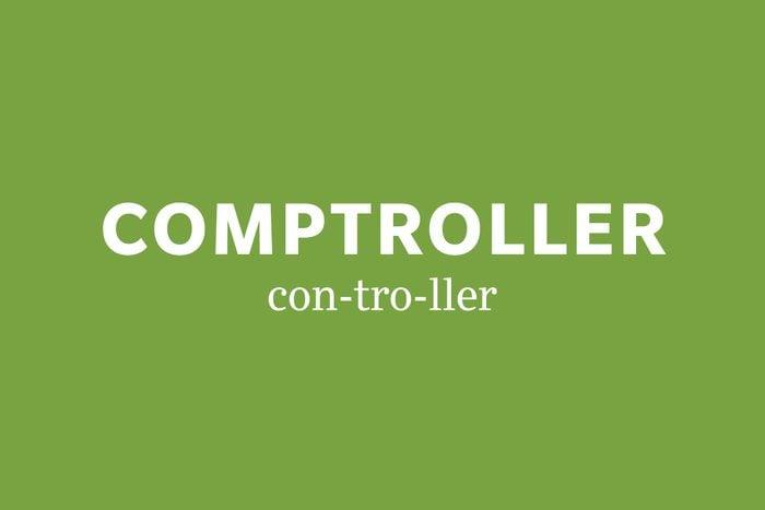 comptroller pronunciation