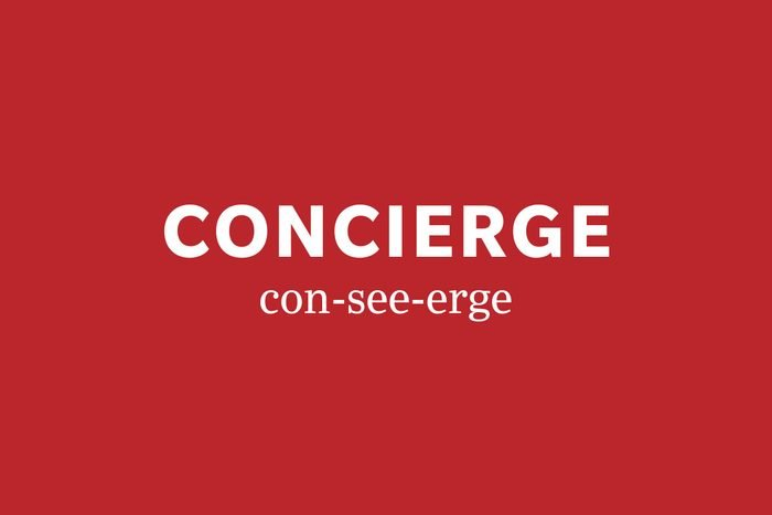concierge pronunciation