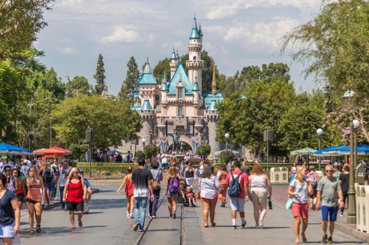 Sleeping Beauty Castle, Disneyland Park, Disneyland Resort, Anaheim, California, USA