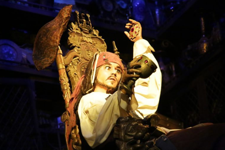 Disneyland's Pirates of the Caribbean Attraction