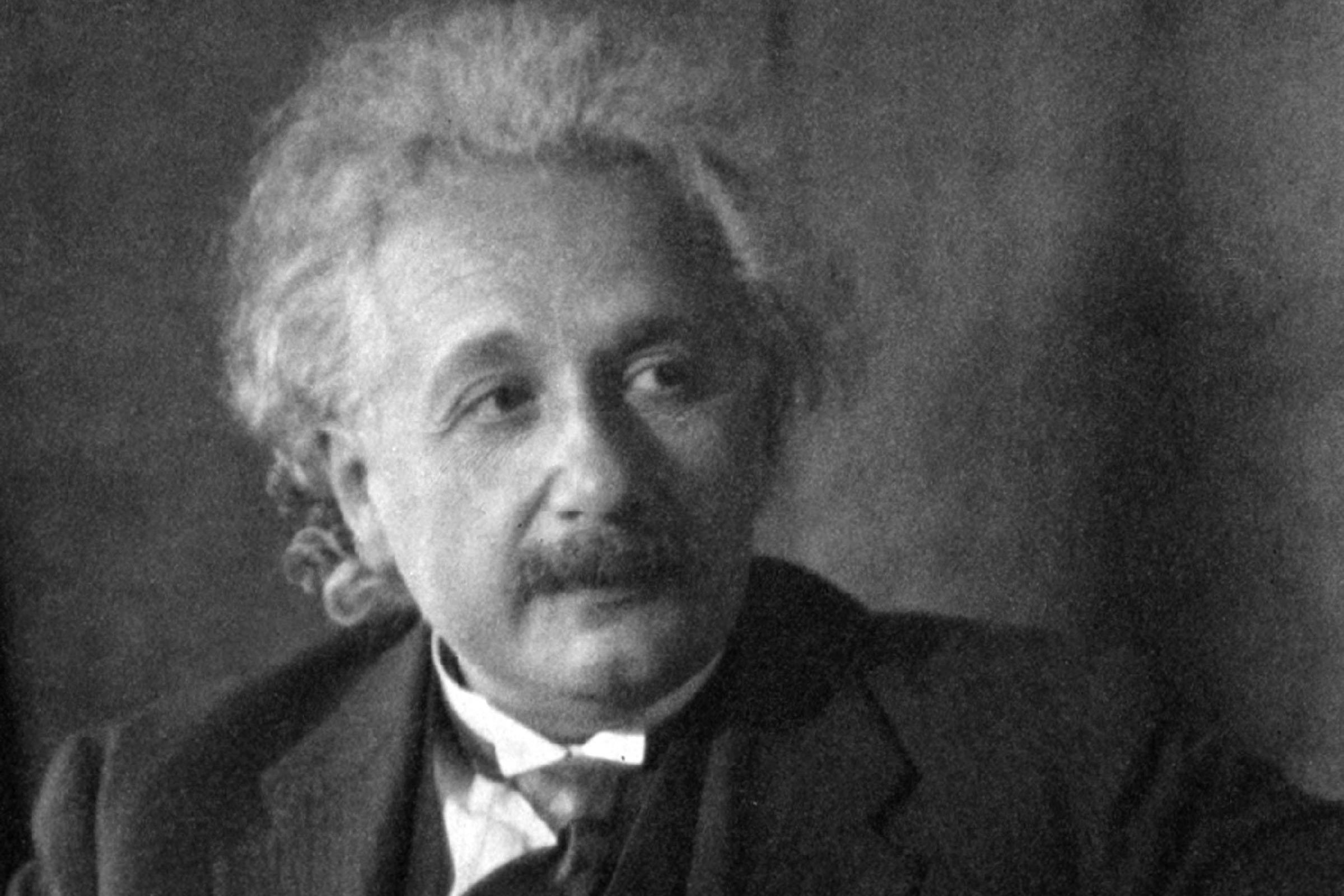 Albert Einstein (14 March 1879-18 April 1955), German-born Swiss-American theoretical physicist, philosopher and author, c1935. Scientist Mathematician