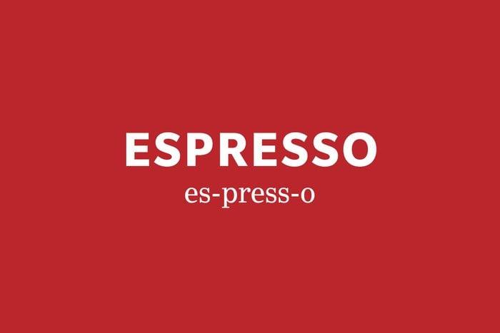 espresso pronunciation