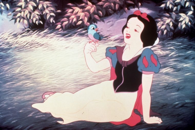 FILM STILLS OF 'SNOW WHITE AND THE SEVEN DWARFS' WITH 1937, SNOW WHITE IN 1937