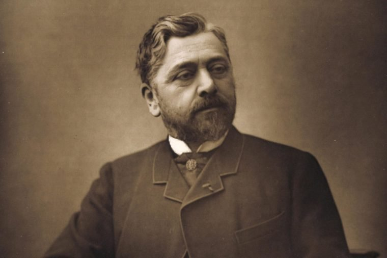 Gustave Eiffel (1832-1923), French engineer.(1880). His most historic and best-known work is the Eiffel Tower built for the Paris Exposition of 1889 and remained the tallest building in the world until 1930. Photograph by Eugene Pirou. (Paris 1880).