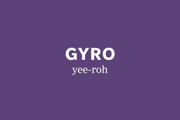 gryo pronunciation