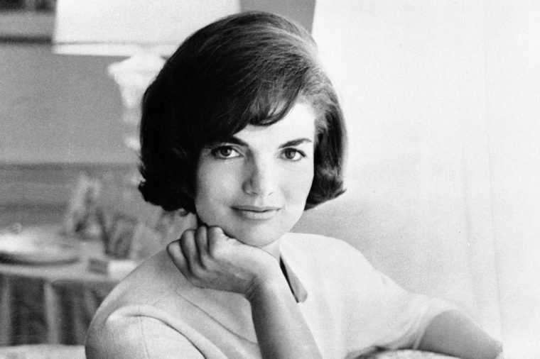 In this photo provided by the White House, first lady Jacqueline Kennedy is pictured in the first family's White House living quarters