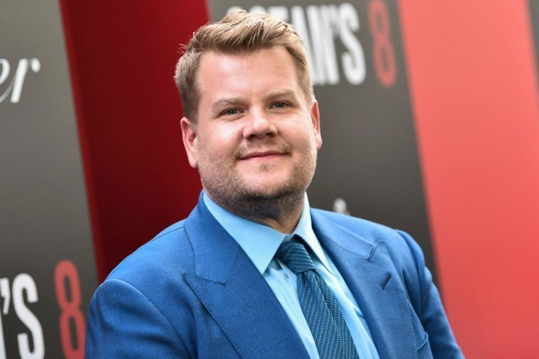 """James Corden attends the world premiere of """"Ocean's 8"""" at Alice Tully Hall, in New York"""
