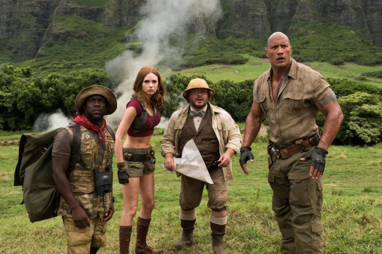 """Jumanji: Welcome to the Jungle"" Film - 2017"