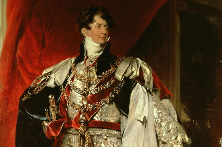 King GEORGE IV of England, 1762-1830, reigned 1820 - 30, Prince Regent from 1811 due to his father's madness (Sir Thomas Lawrence)