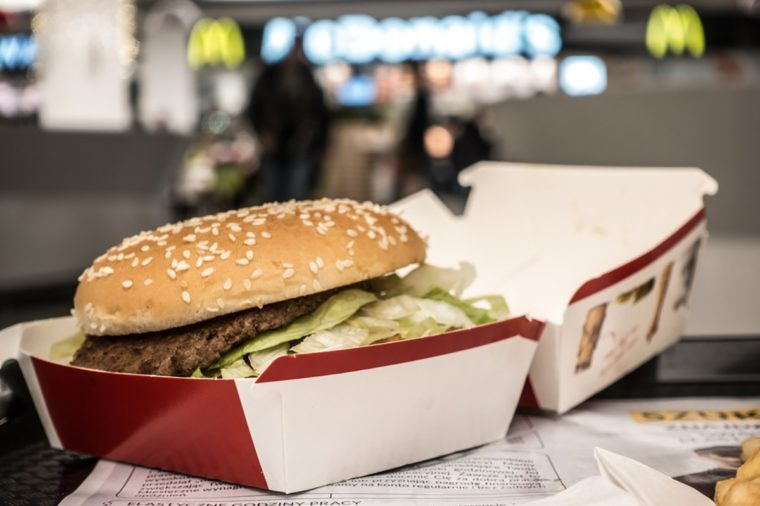 Lodz, Poland, January 07, 2017: McDonald's Big Mac