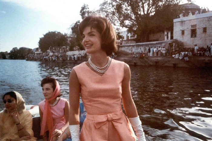 Mrs. Kennedy's trip to India. 1962