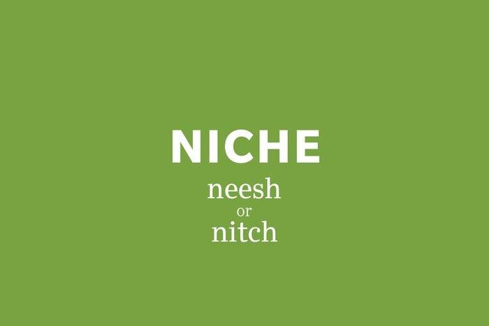 niche pronunciation