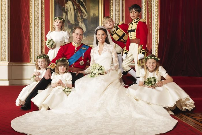 Official Portraits of the wedding of Prince William and Catherine Middleton, London, Britain - 29 Apr 2011