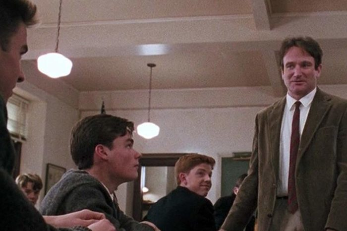 Famous movie quotes. dead poets society