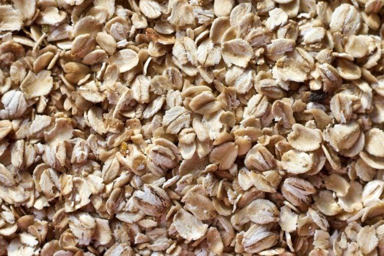 oatmeal under the macro lens