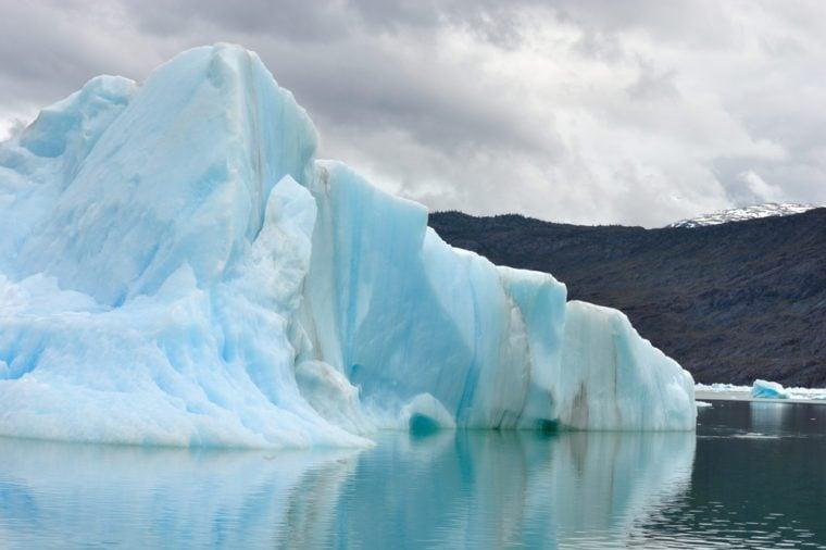 Iceberg near Jorge Montt Glacier, Patagonia Chile