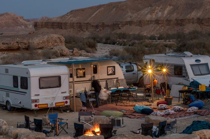 Desert RV- Caravan Vacation- Mizpe Ramon, Israel