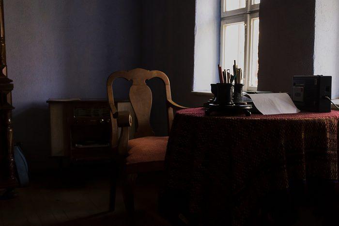 Dark rooms in museums