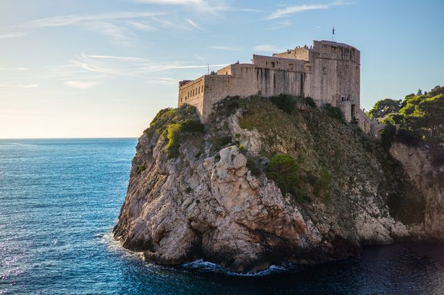 Old town Dubrovnik Croatia - Game of Throne location set for King's landing