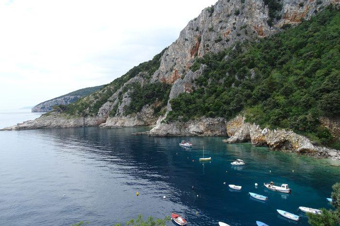 open natural harbour istria croatia