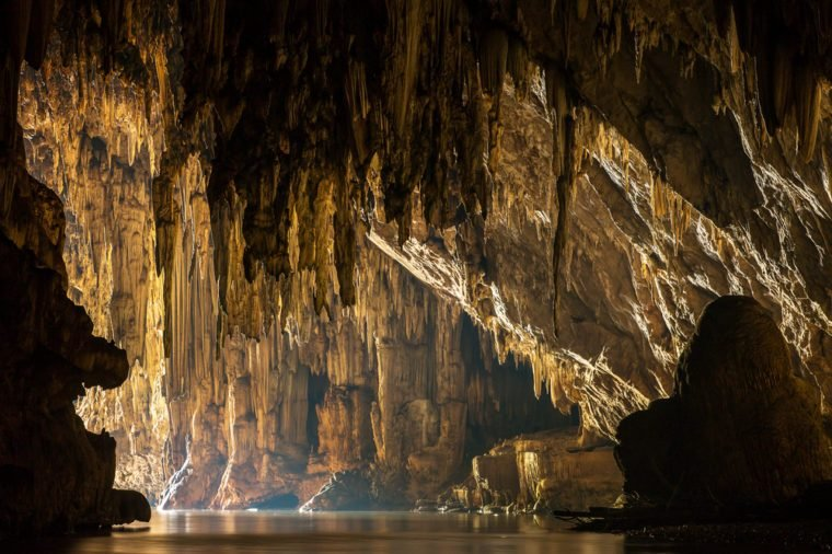 Beautiful Lod cave in Sappong, Northern Thailand