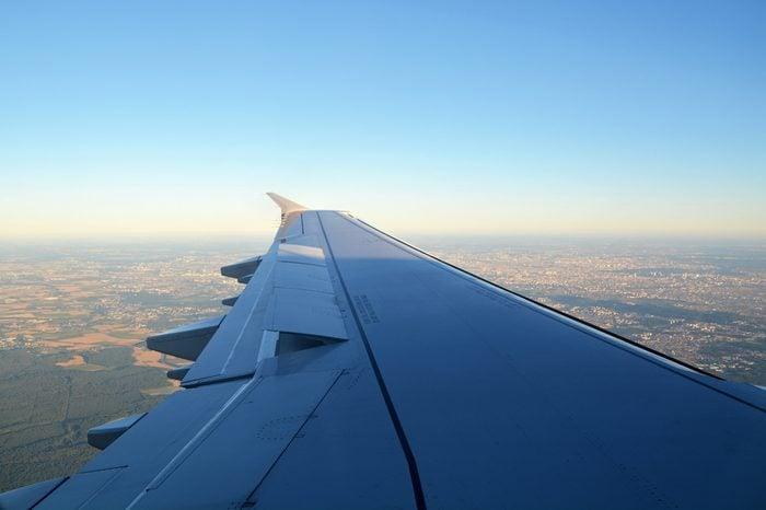 November 2016, aircraft flying over Europe
