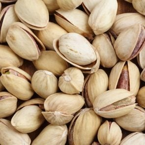 background of pistachio-nuts