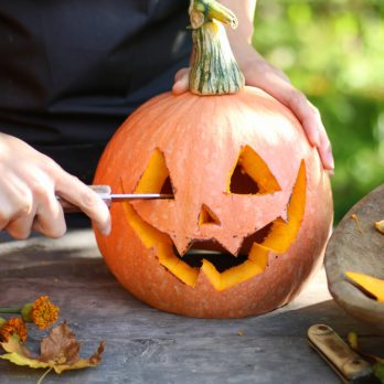 How to Create Gorgeous Gourd Candleholders