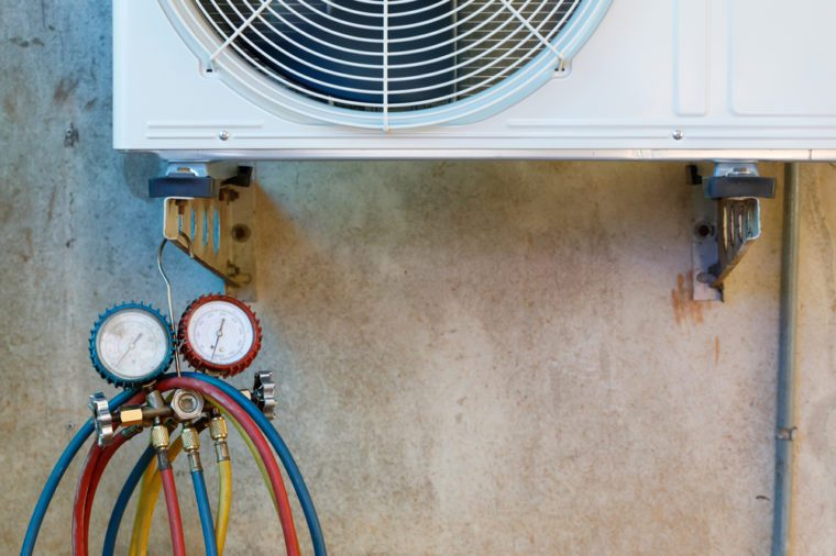 Air Conditioning Equipment with Maintenance