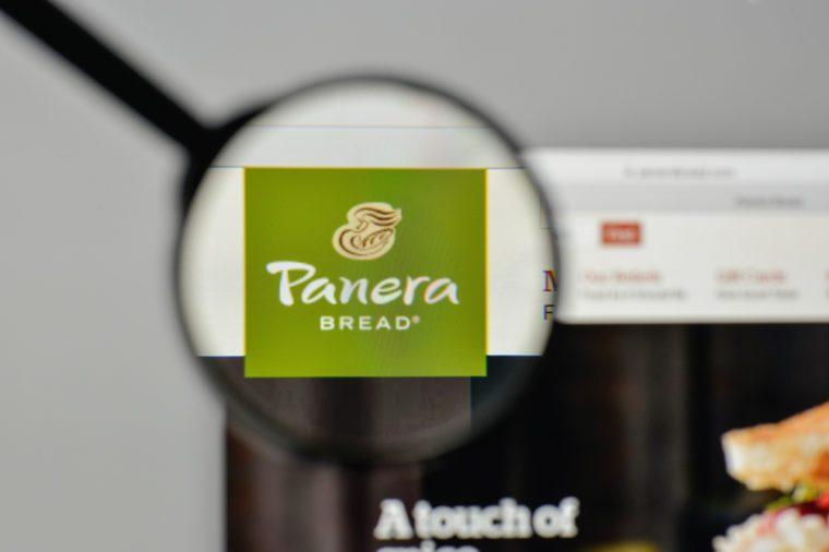 panera bread site