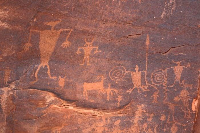 Utah Highway 279 Rock Art Hieroglyphs