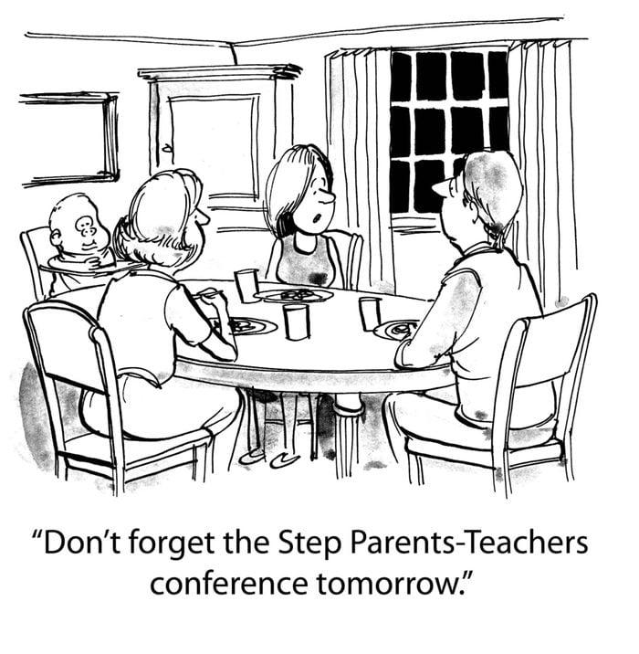 Step Parents-teachers conference.