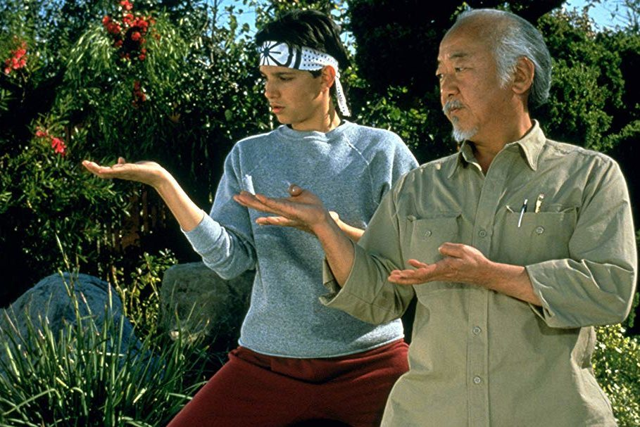 Famous movie quotes. the karate kid