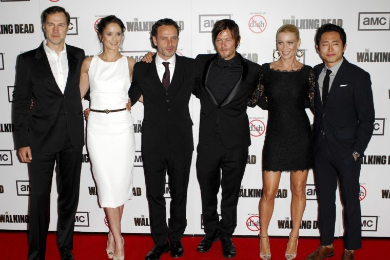 'The Walking Dead' Season 3 TV Series premiere, Los Angeles, America - 04 Oct 2012