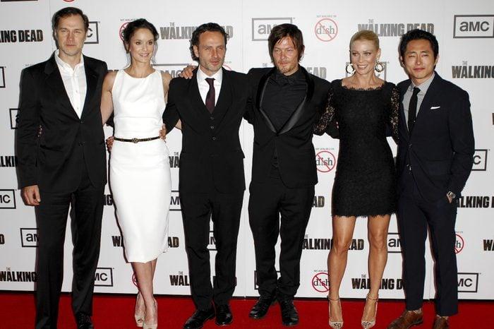 'The Walking Dead' Season 3 TV Series premiere, Los Angeles, America - 04 Oct 2012