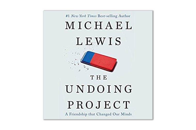 undoing project - michael lewis