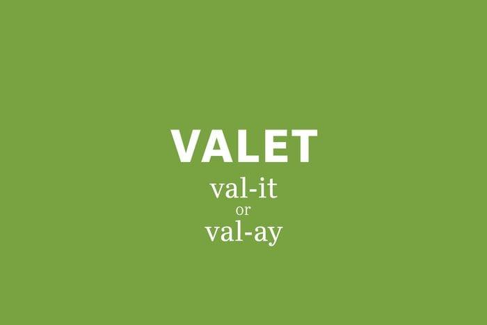 valet pronunciation