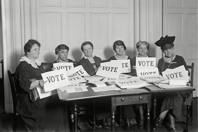 National League Of Women Voters, September 1924