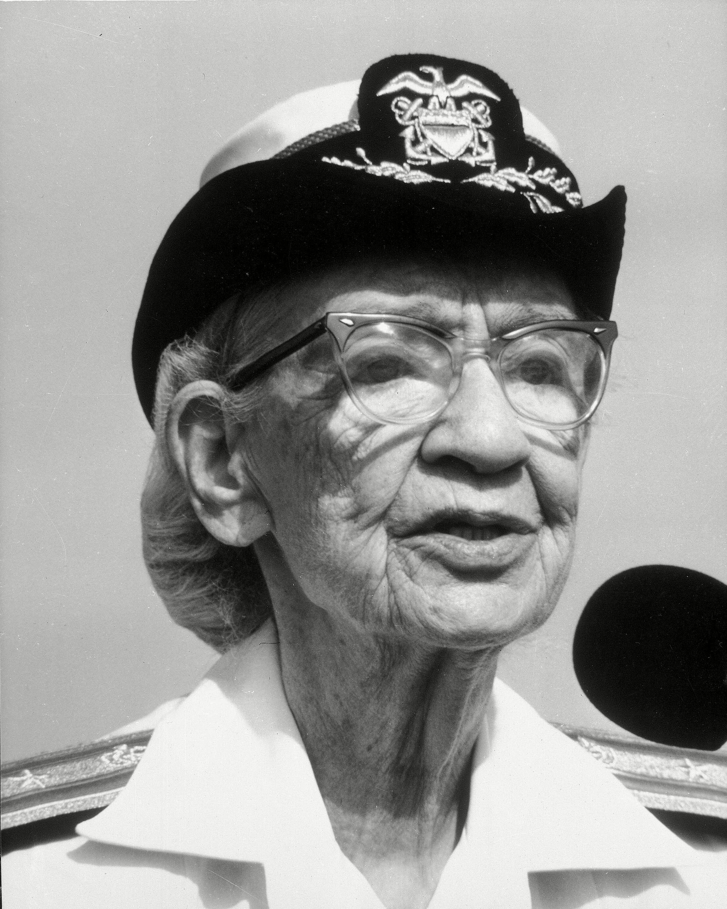 79-year-old Rear Admiral Grace Hopper
