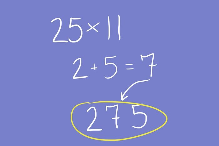Multiplying two-digit numbers by 11