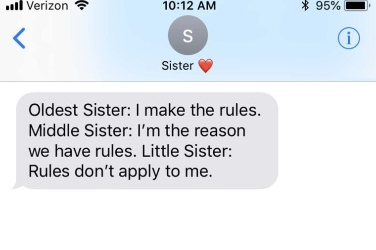 Funny Sister Quotes to Text Your Sister Right Now | Reader's