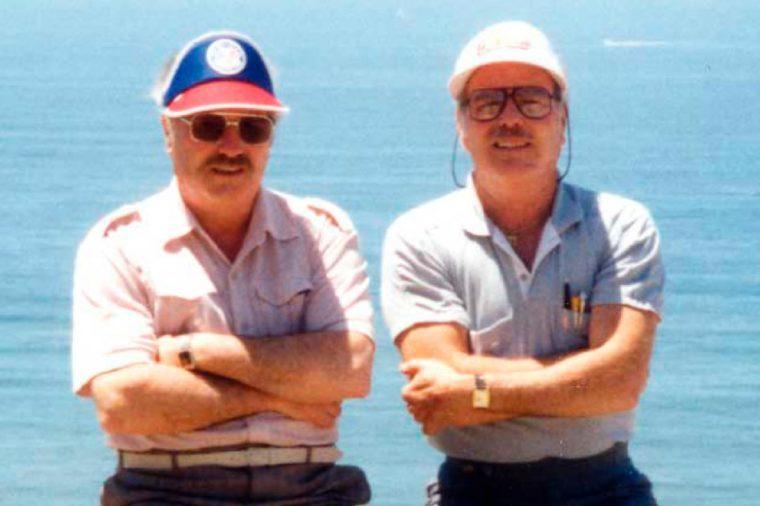 Jack Yufe and Oskar Stohr