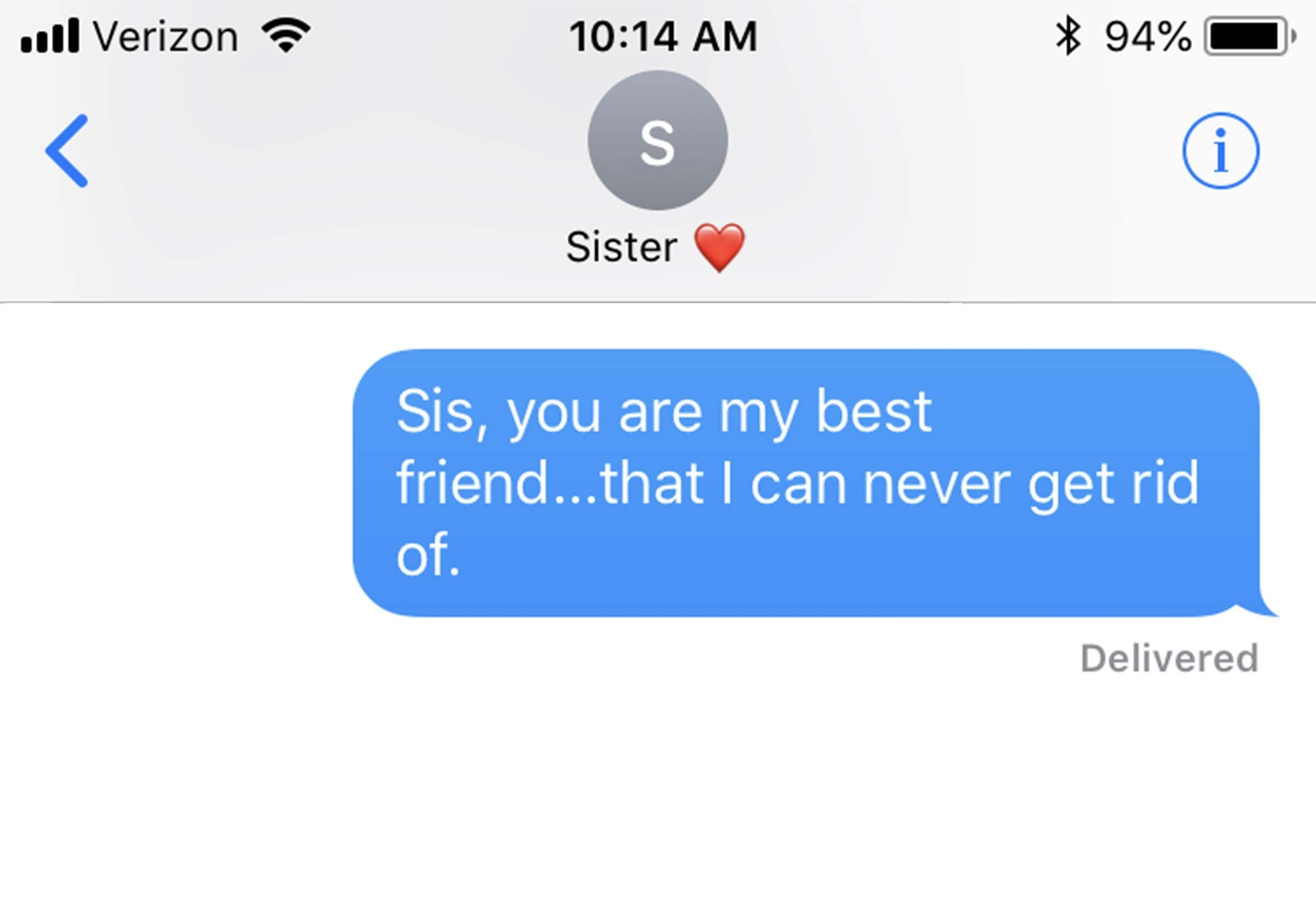 Funny Sister Quotes To Text Your Sister Right Now Readers